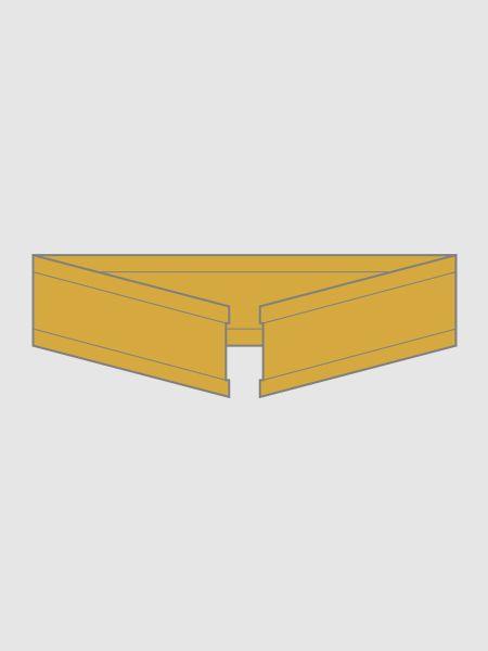 U-Clipse aus Papier in gold, 33 mm
