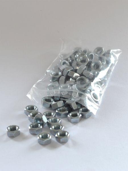LDPE-Druckverschlussbeutel 70 x 100 mm, 50 µ