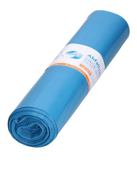 LDPE-Müllsack 700 x 1.100 mm, 37 µ, 120 l, blau