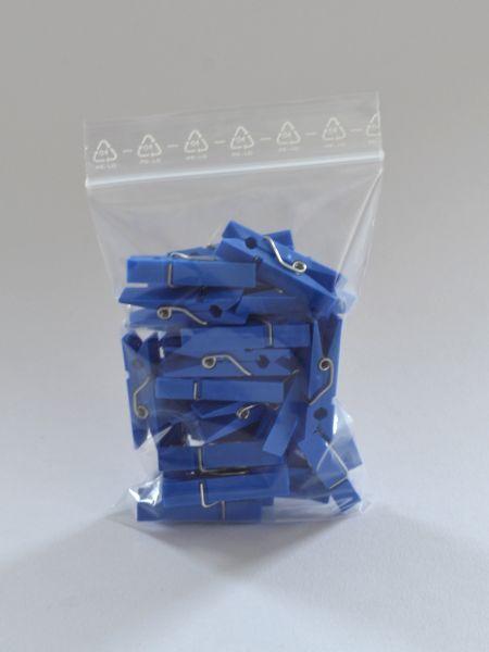 LDPE-Druckverschlussbeutel 50 x 70 mm, 50 µ