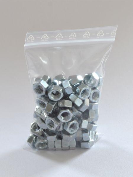 LDPE-Druckverschlussbeutel 120 x 170 mm, 90 µ
